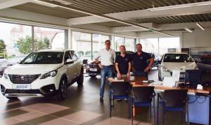 Verkaufsteam Peugeot Mayer Leobersdorf